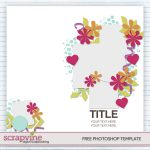 How to Use Digital Scrapbooking Templates + Bonus FREE Download