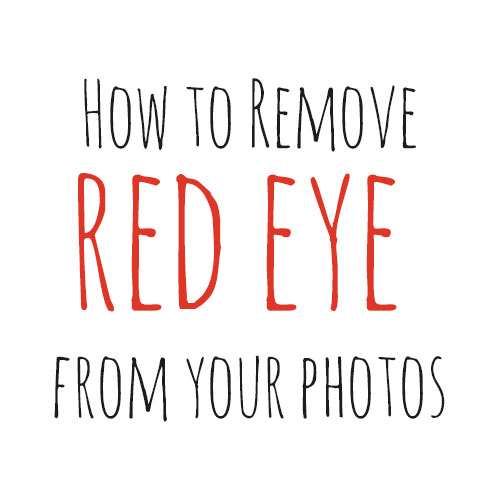 How to Remove Red Eye From Photos in Photoshop