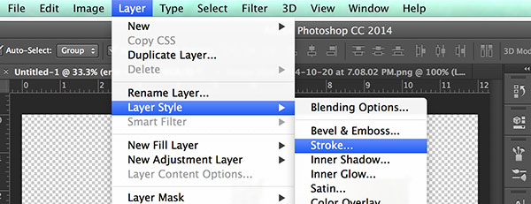 Add a White Frame to Photos in Photoshop
